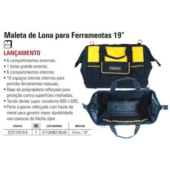 BOLSA DE LONA FERRAMENTAS 19 POL MALETA STST74319-8 STANLEY