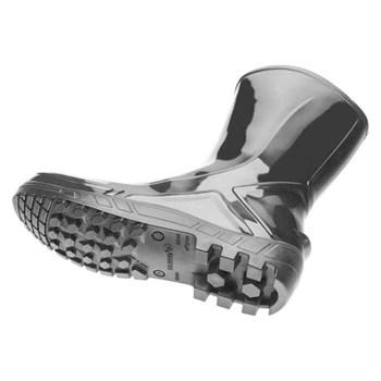 BOTA PVC SEM FORRO INTERNO PRETO - 110VFLEX-PT Nº39  VILCAFLEX